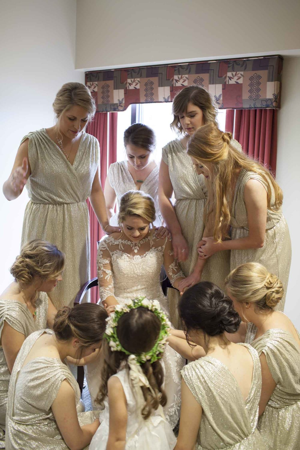 Bridesmaids Praying.jpg