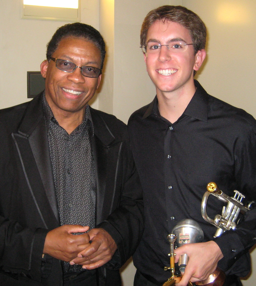Peformance with Herbie Hancock at UCLA's Royce Hall