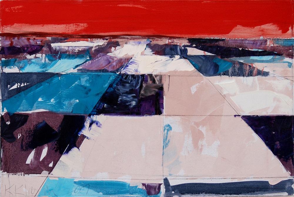 "Landscape Study #16, 2007, 20"" x 30"""