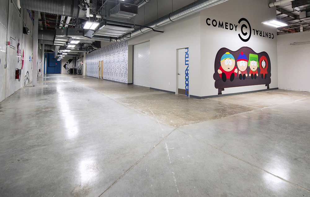 Casting & Studio Hallway