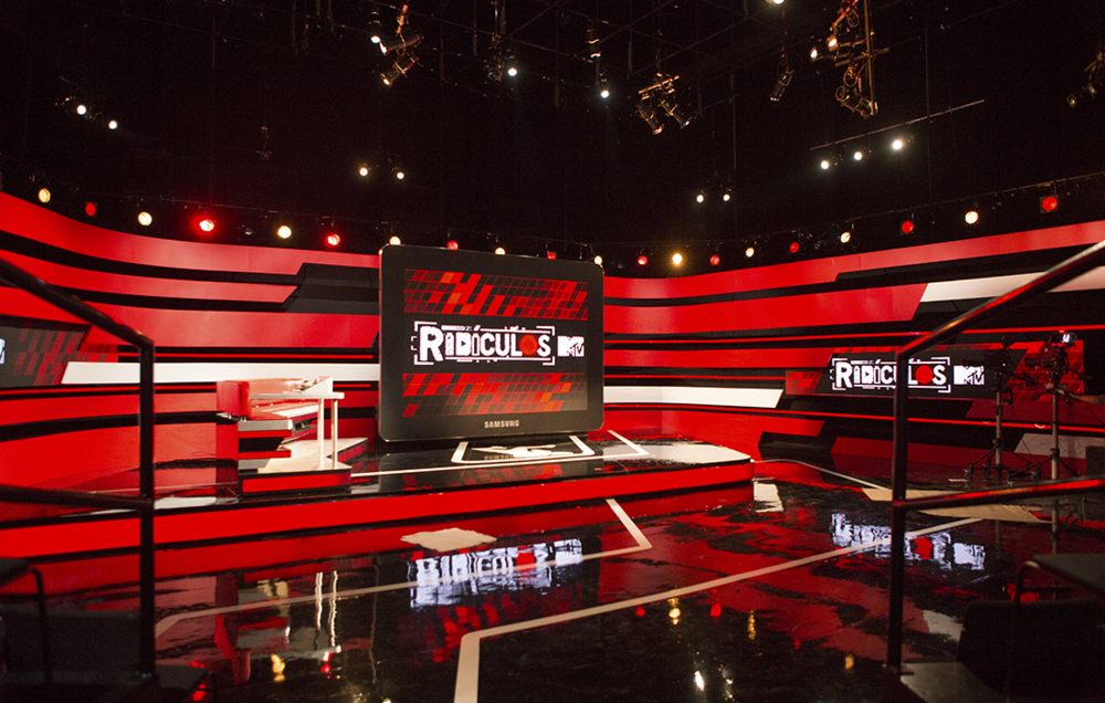 Studio 1, Ridiculos MTV set