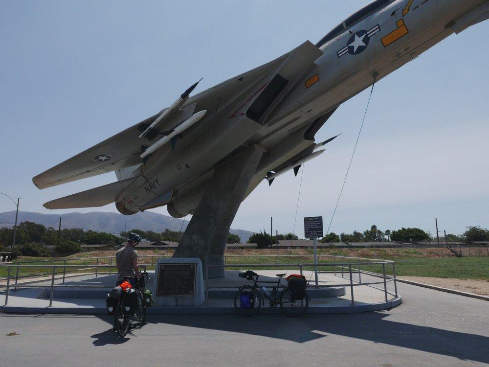 Missile park picnic.
