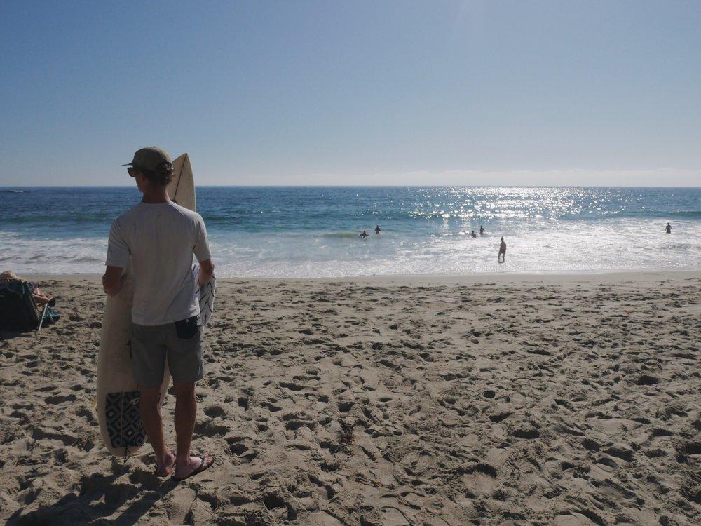 Laguna Beach loiter.