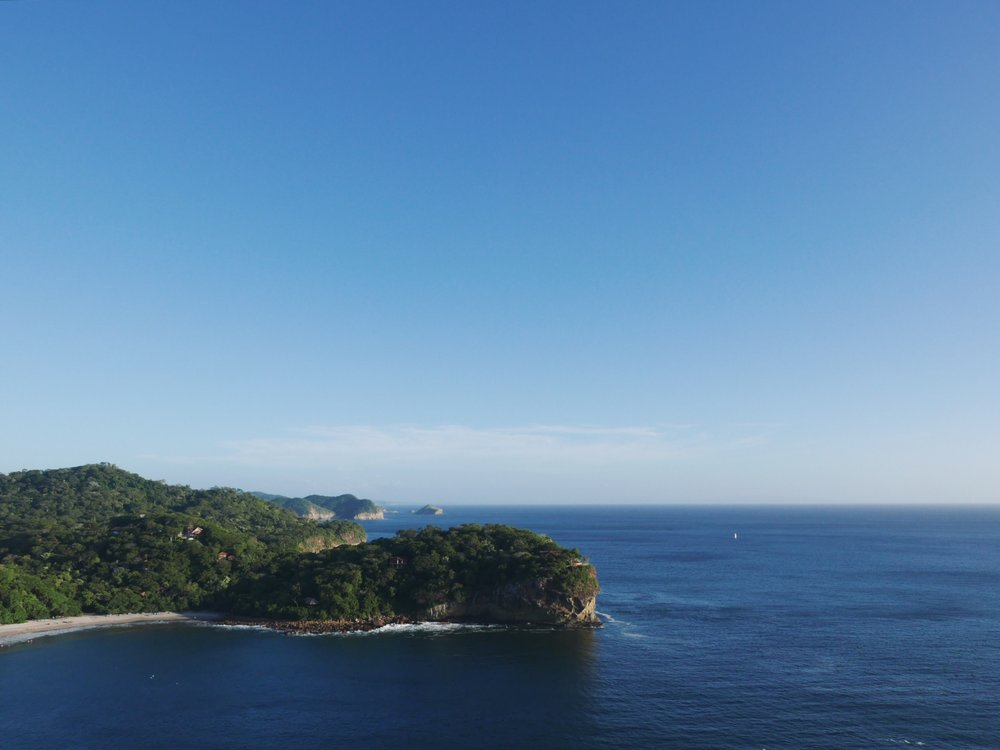 El Gigante, Nicaragua (with Costa Rica in the distance.)