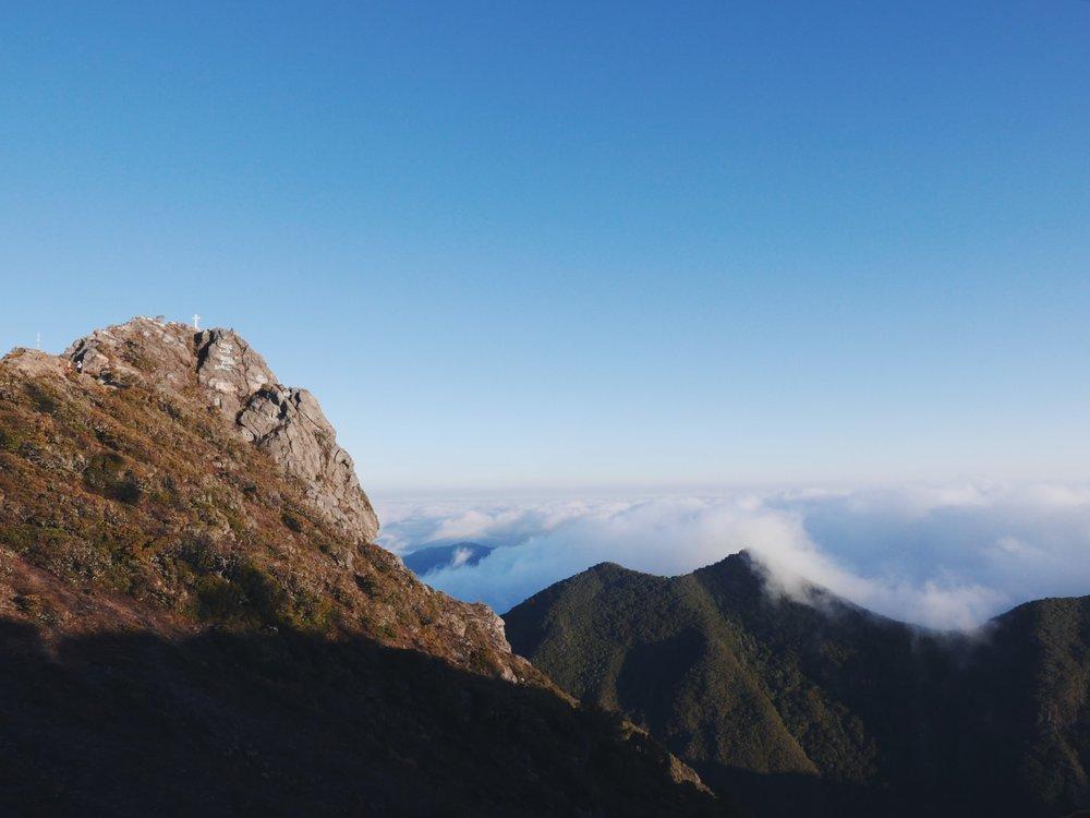 Volcán Barú summit. 11,400'