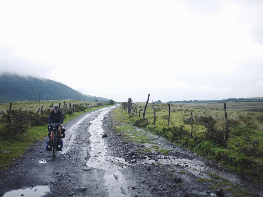 We're technically at the tail end of Ecuador's rainy season, which is little consolation when it's actually raining.