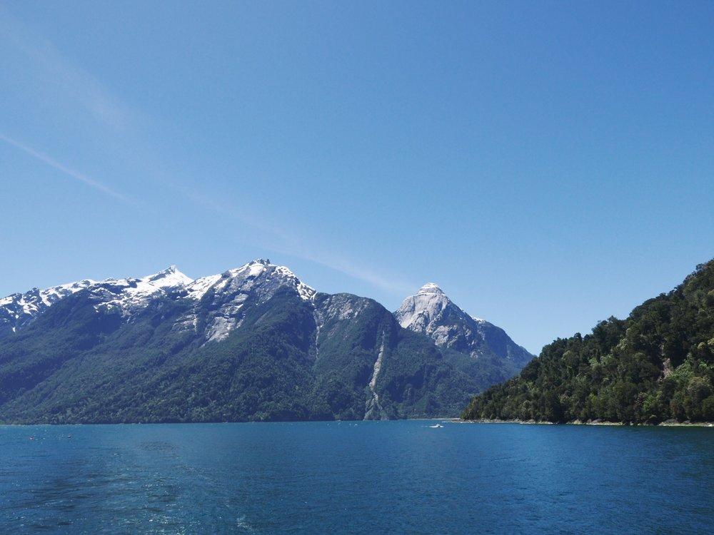 Fjord escort.