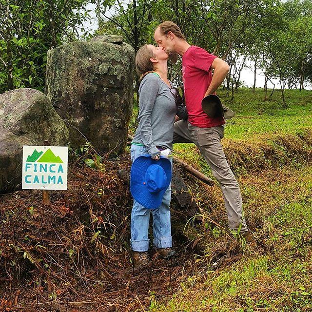 Love.  #fincacalma #vidacalma #puravida #costarica