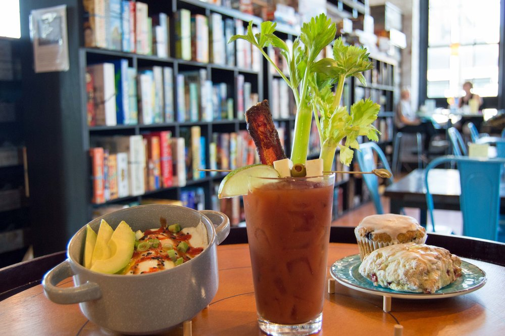 Breakfast Fried Rice Bowl, Bloody Mary, and Vegan Treats