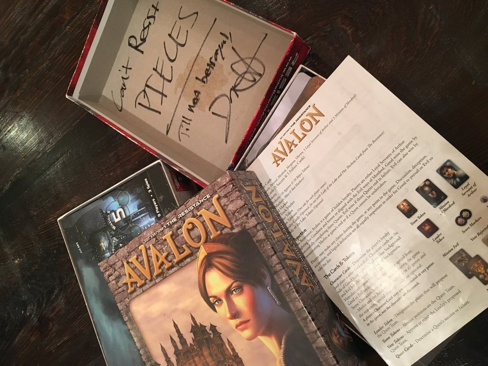 Signed Copy of Avalon