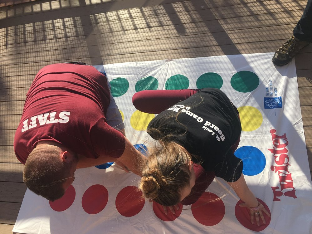 Twister on the Patio
