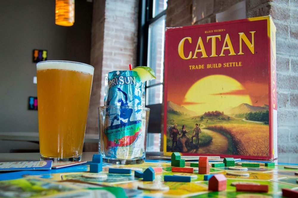 Beer, Booze, & Board Games