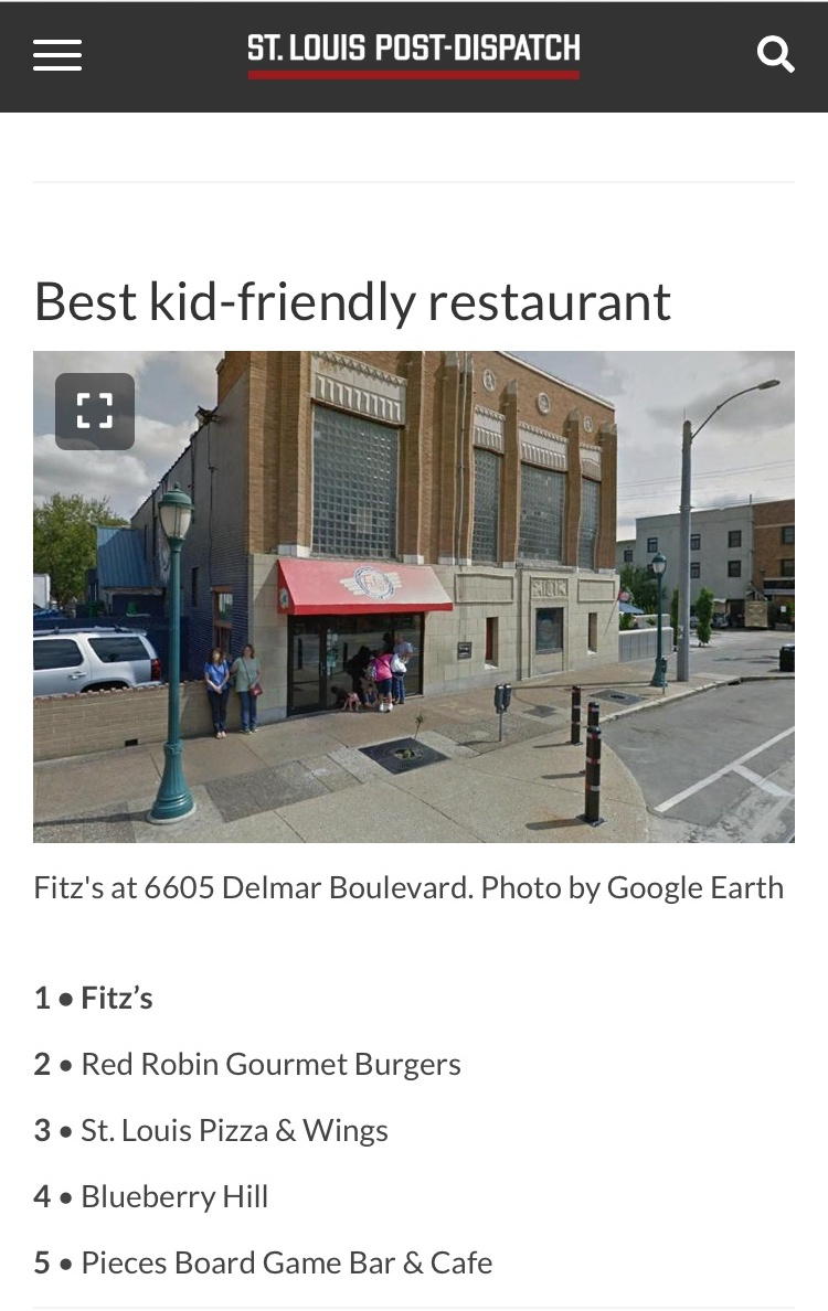 Voted Best Kid-Friendly Venue