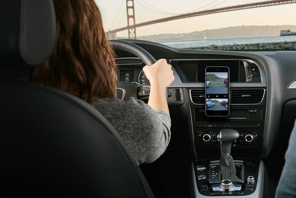 Pearl Auto Rearview Camera - App View
