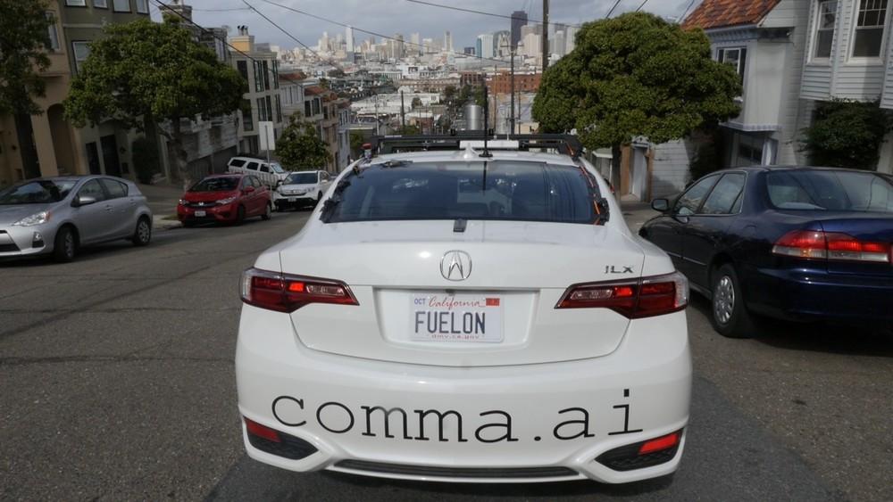comma.ai prototype