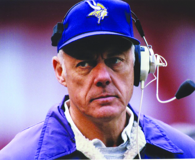 Pro football Hall of Famer Bud Grant is shown during his coaching days with the Minnesota Vikings. Grant coached the Vikings for 18 seasons and guided them to four Super Bowls along the way. (Contributed)