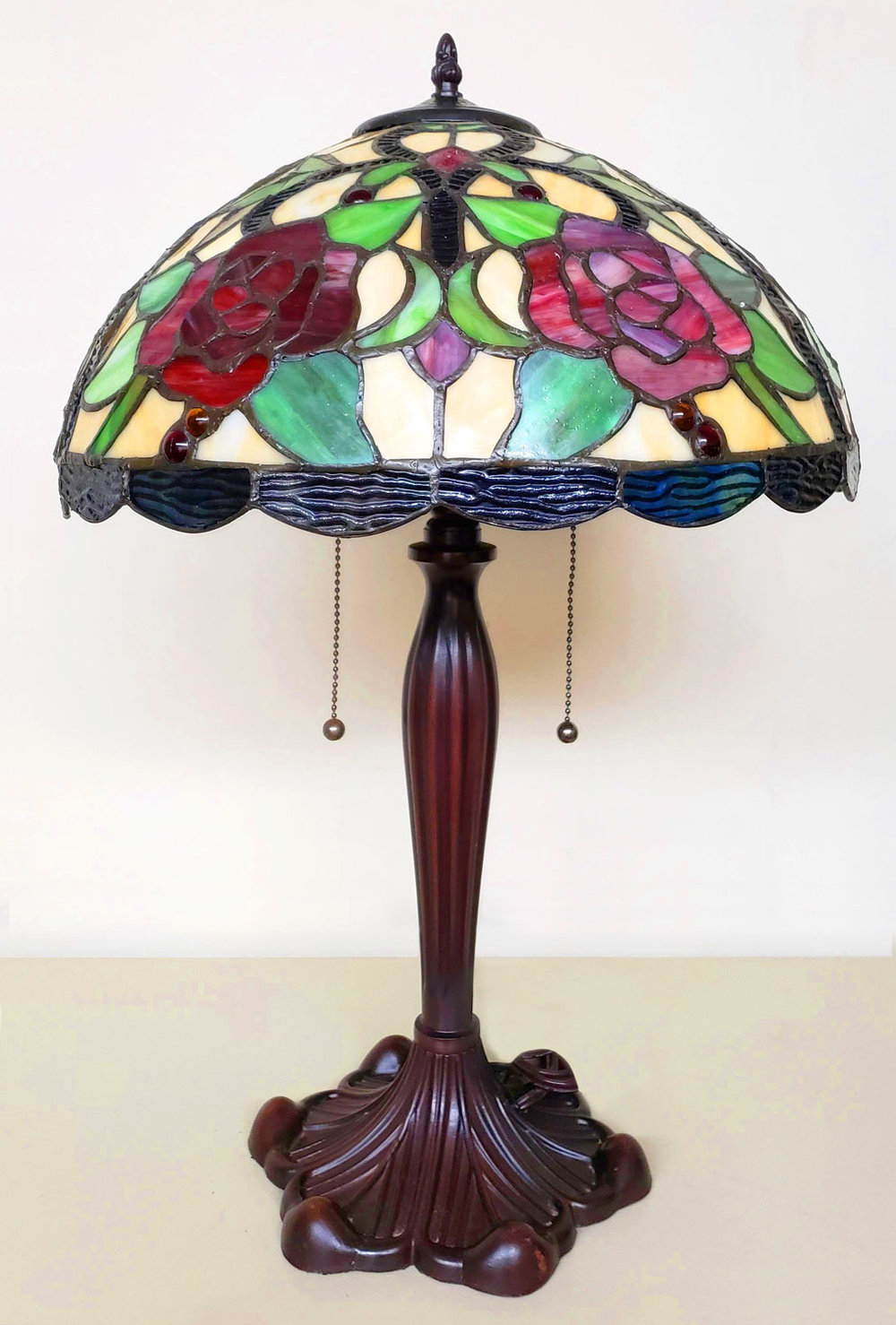 Beautiful, collectible lamps are available for sale.
