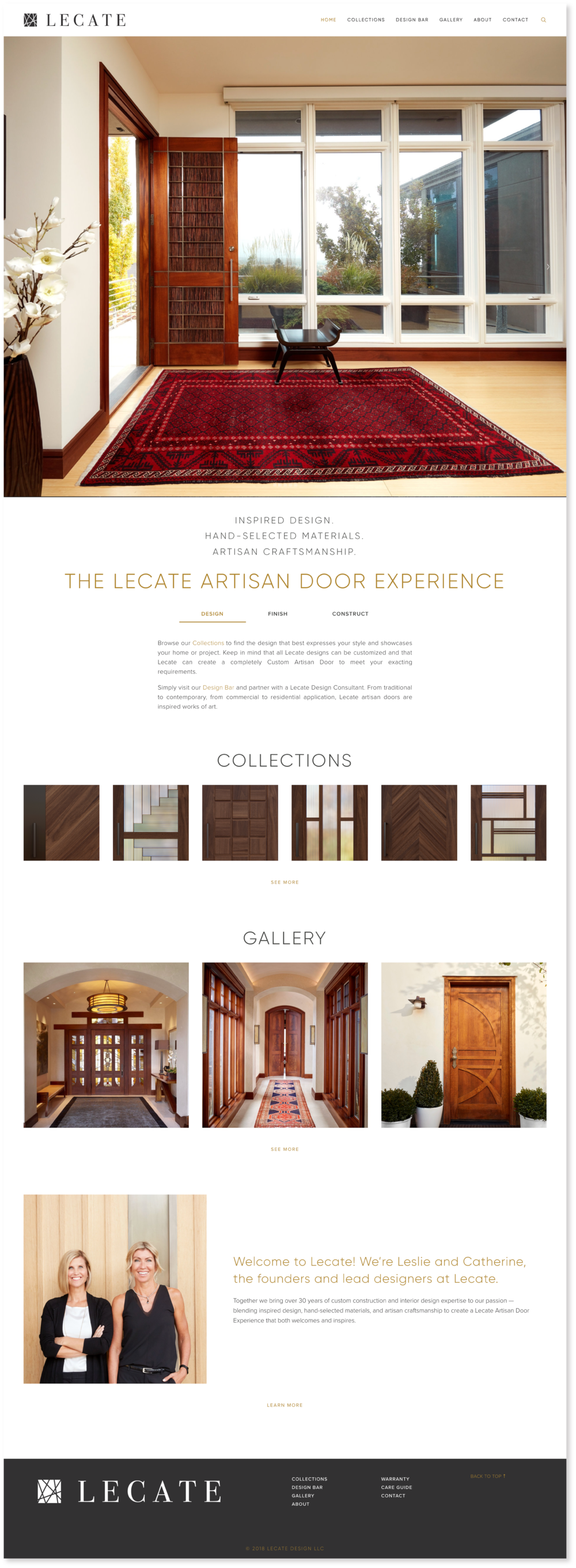 Lecate-Home-Page-Design-Website-Squarespace-Artisan-Doors-Salt-Lake-City-Treadaway-Design.png