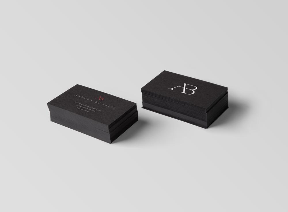Business Card Design Ashley Babbitt Treadaway Co. Design.png