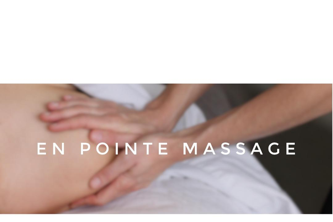 En Pointe Massage; Therapeutic Massage