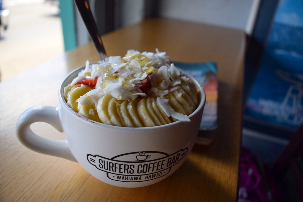 Surfer's Coffee Bar Acai Bowl