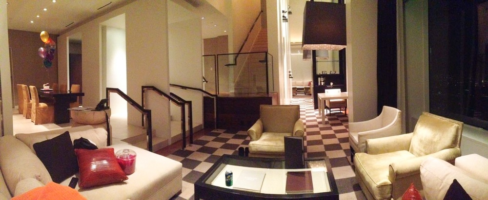 The luxurious two-bedroom Skyloft @ The MGM Grand
