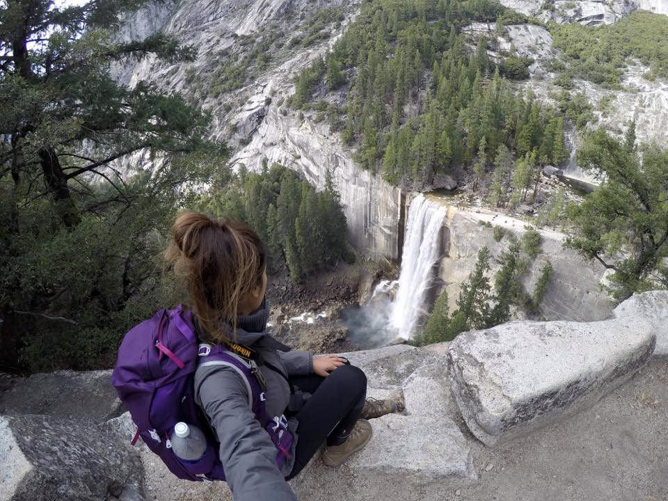 View of Vernal Falls