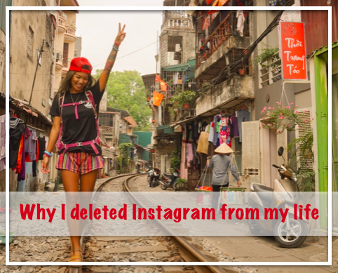 why I deleted instagram from my life