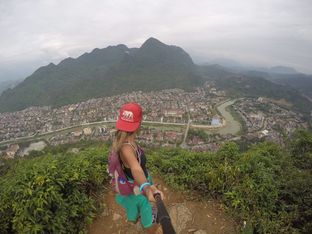 Overlooking Ha Giang, Vietnam
