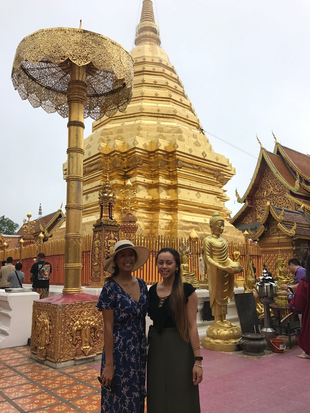 Besties take Thailand!