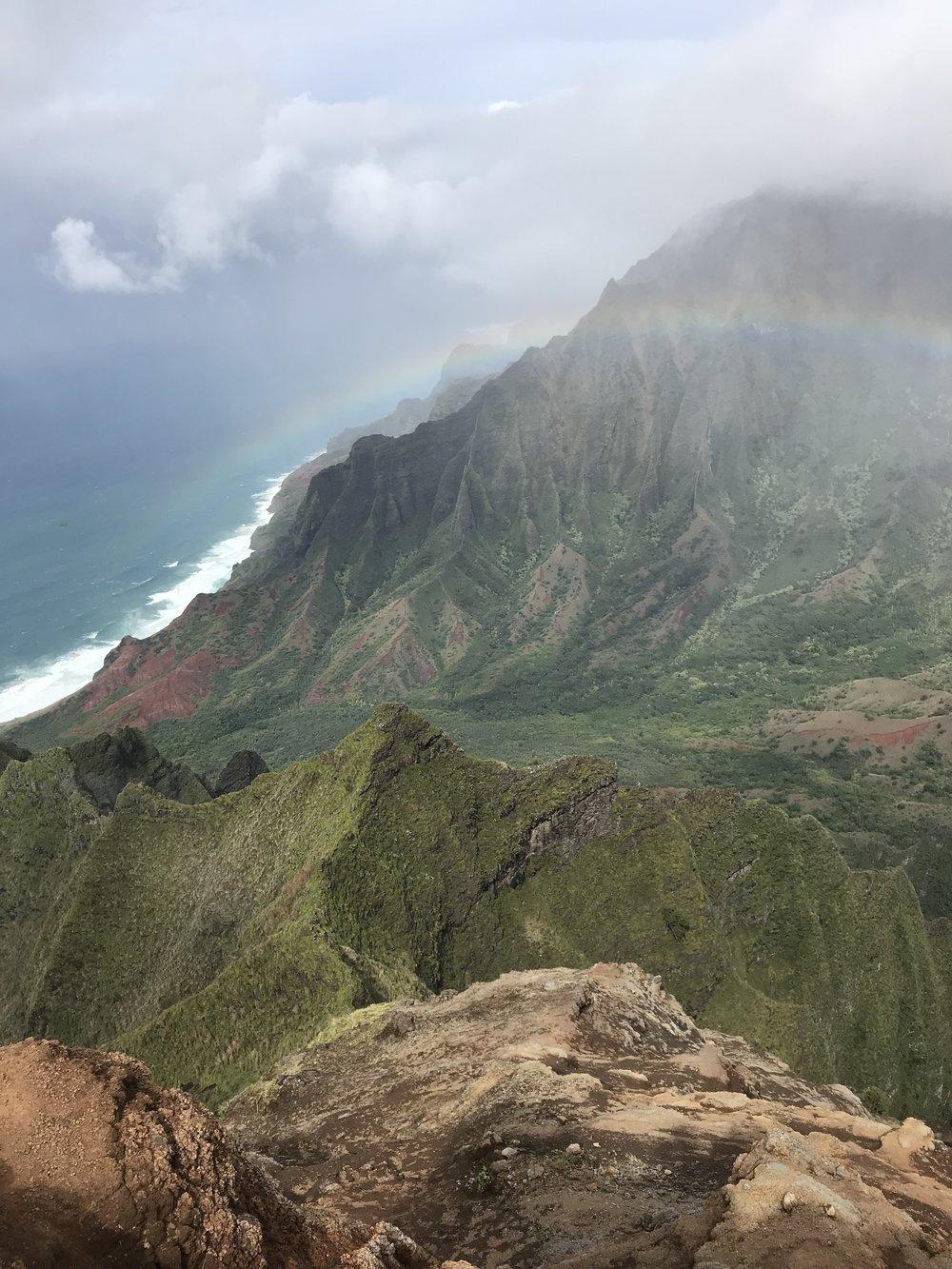 More Na Pali coast.