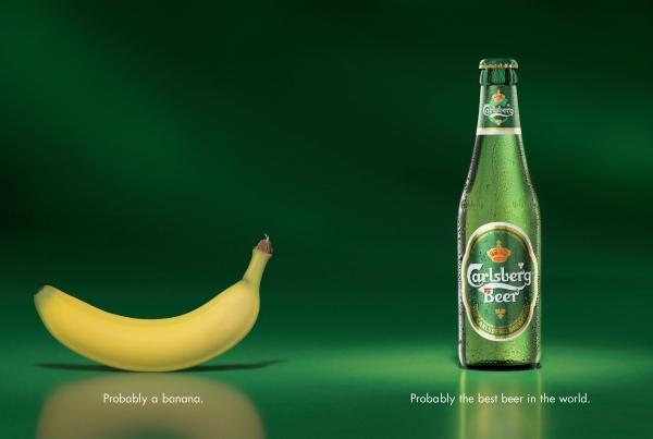Carlsberg Creative Advert example