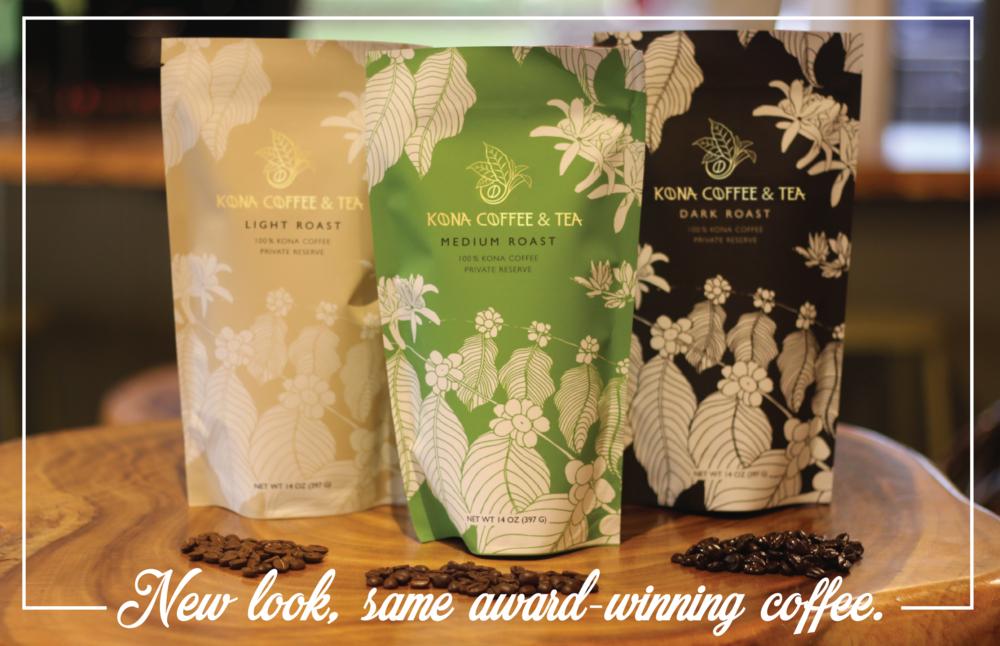 New Kona Coffee