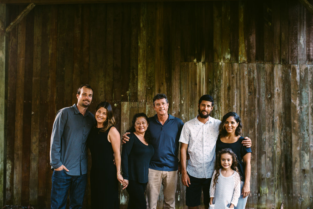 Bolton Family L-R: Leighton, Malia, Jan, Dan, Danny, Zulay, & Zadie (missing Kirstina) PHOTO: Blake Wisz
