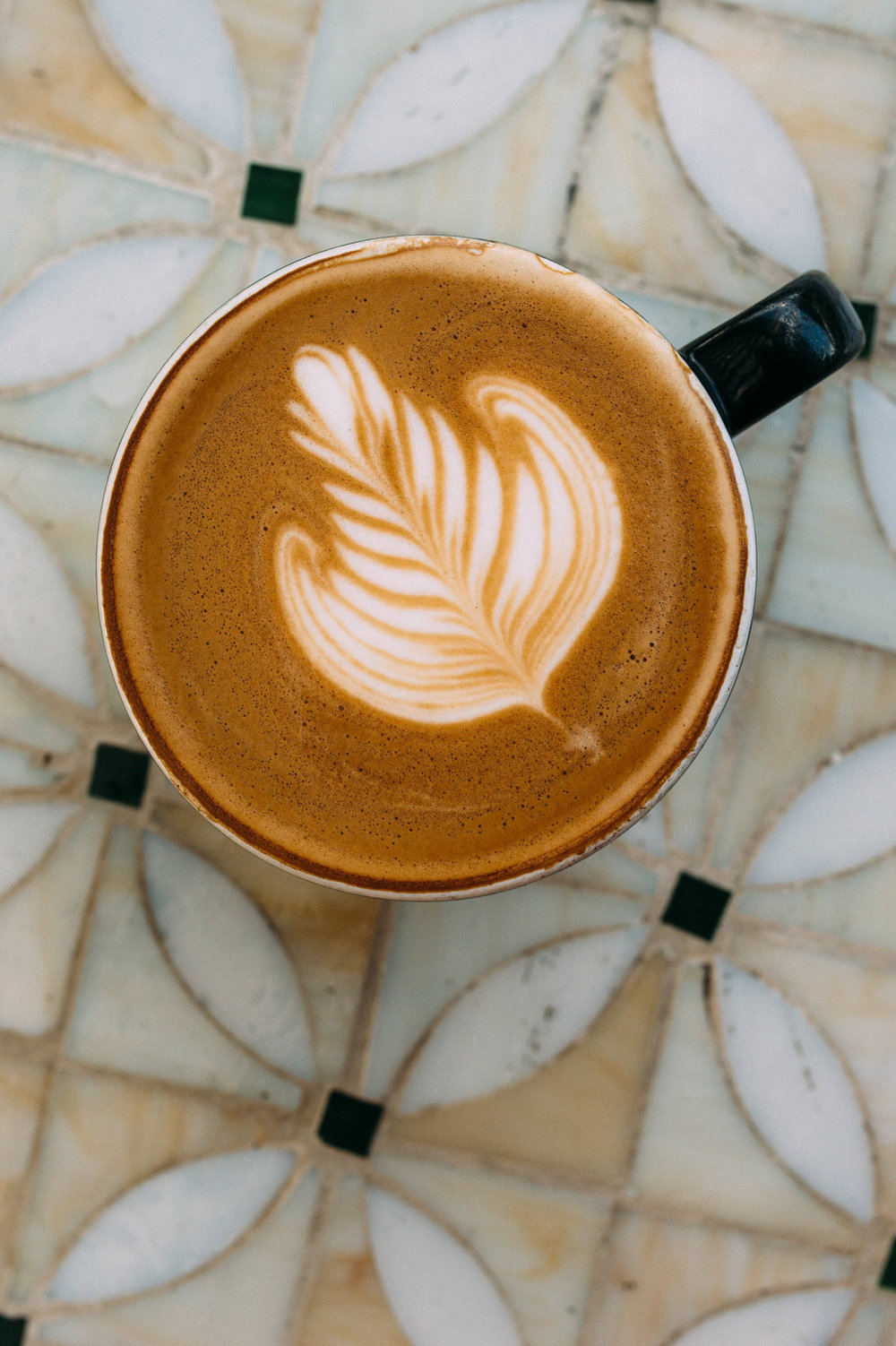 All coffee drinks at the Kona Coffee & Tea café can be ordered decaf. PHOTO: Blake Wisz