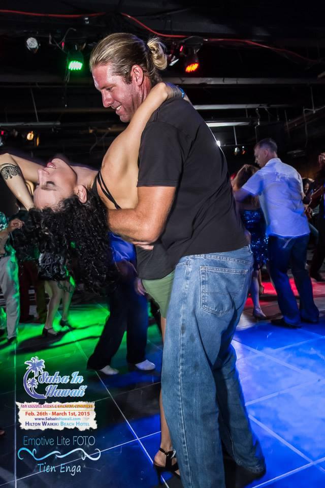 Matt & Stephanie dancing