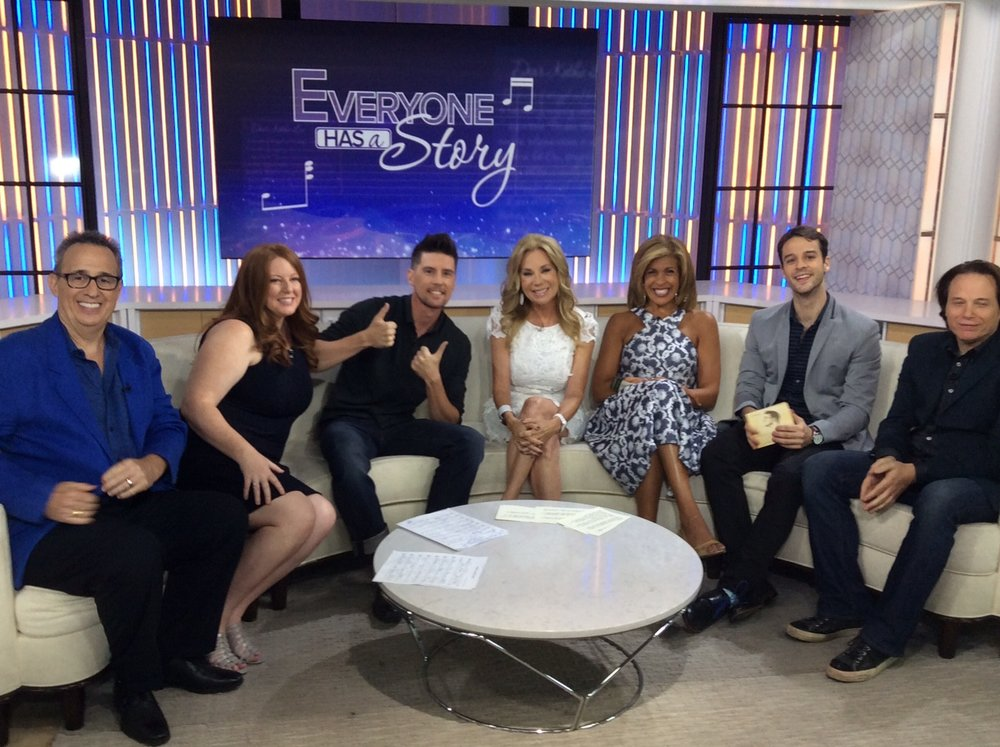 Pete on the Today Show with Kathy Lee and Hoda.