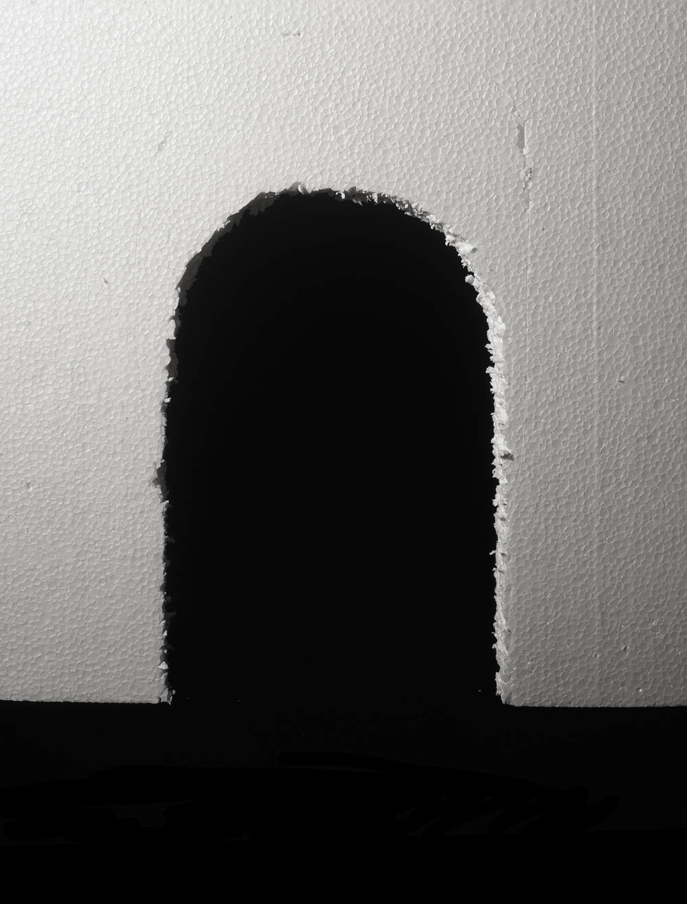 Archway,C-Print,27 x 21.5 inches, 2014