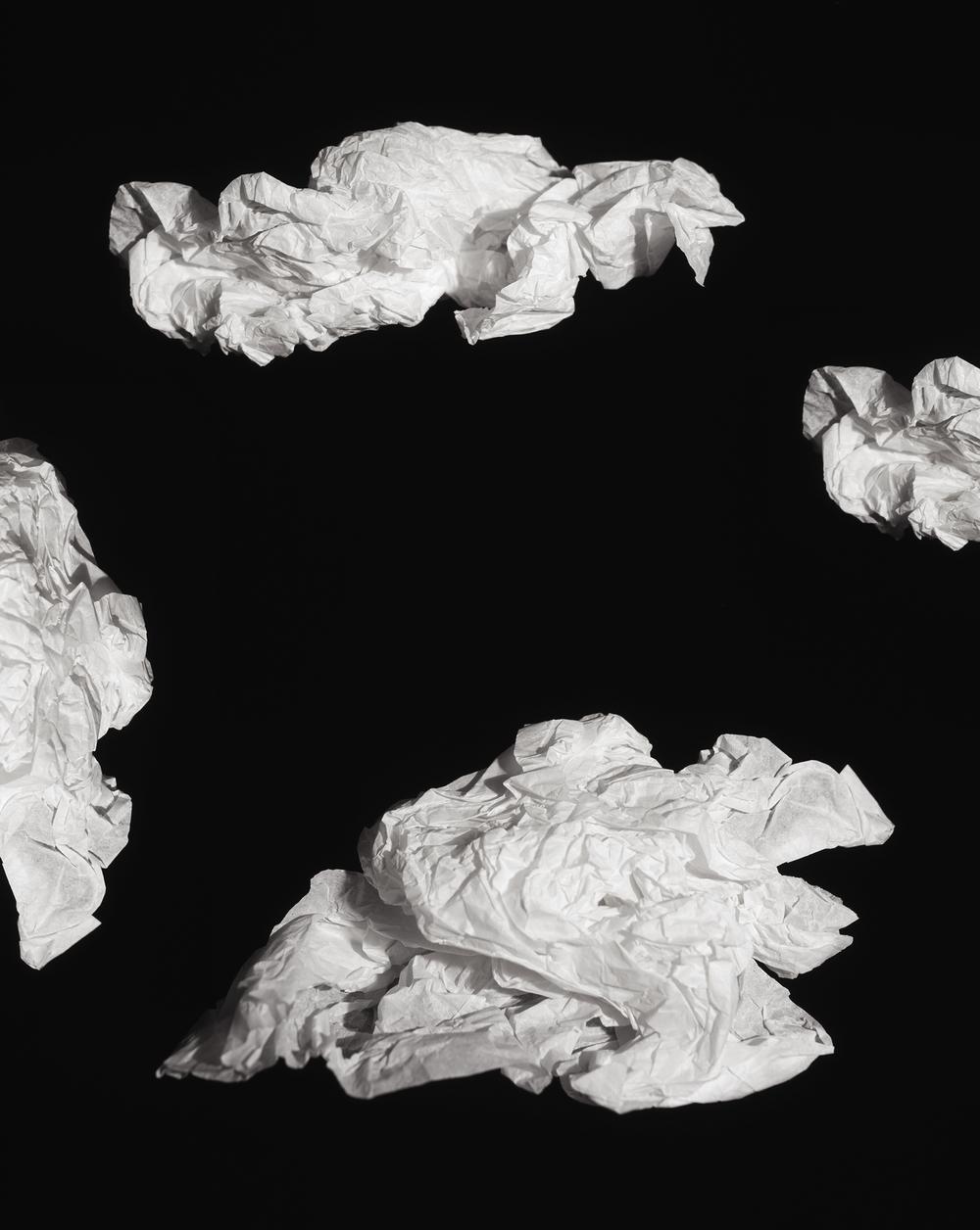 {Clouds}, C-Print, 27 x 21.5 inches, 2014