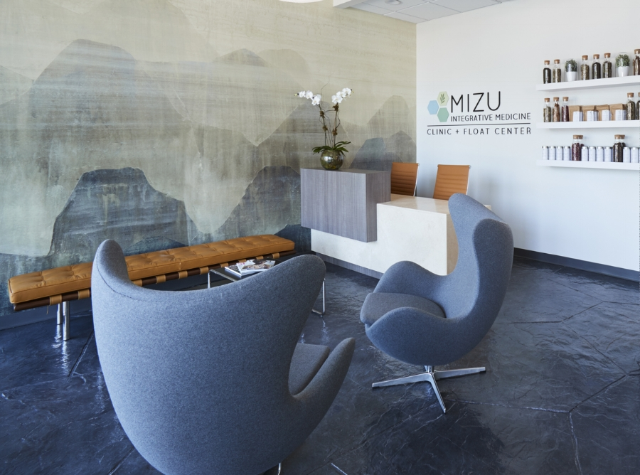THE MIZU CLIINC + FLOAT Center opened its first location nov 4th.