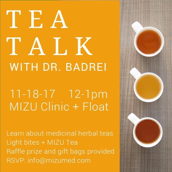 MIZu's herbal MEDICINE tea talk houston