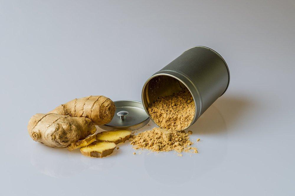 Ginger Root, used in MIZU's Wellness & Immunity Teas