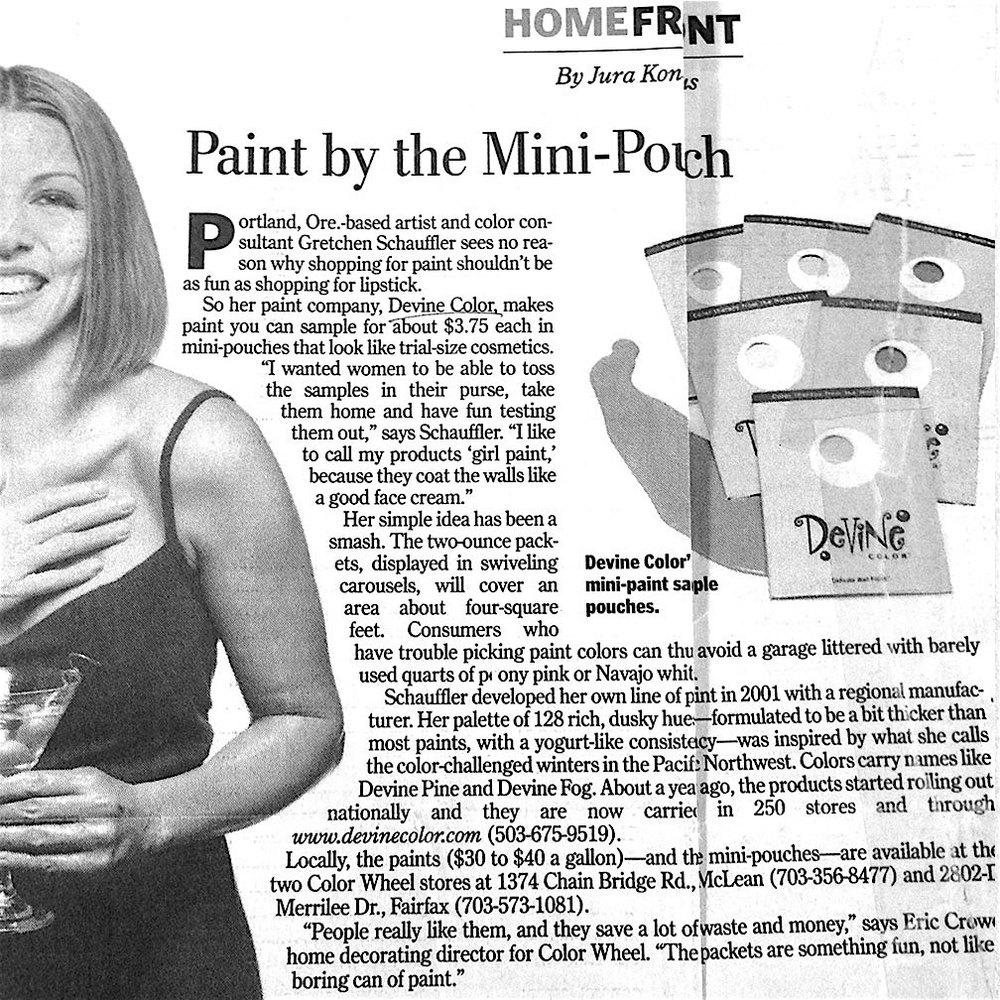 Devine Color In The Washington Post