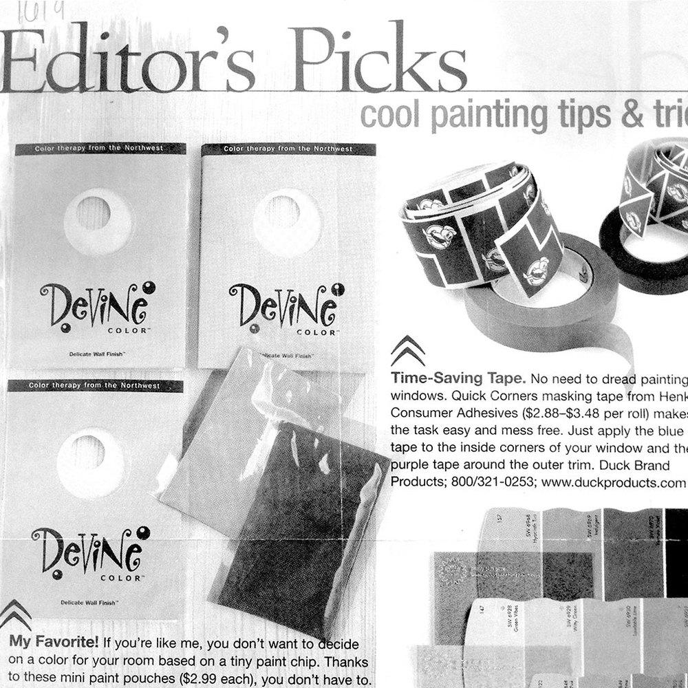 Editor's Pick Devine Color