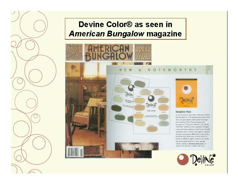 Devine Color American Bungalow
