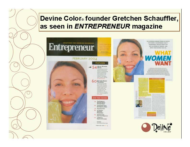 Devine Color Entreprenuer Magazine