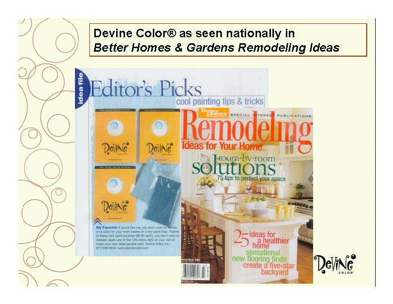 Devine Color In Remodeling Magazine