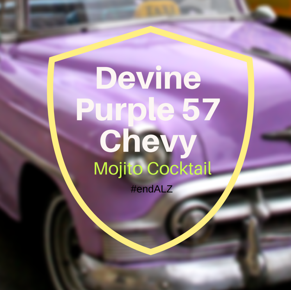 Devine Purple 57 Chevy