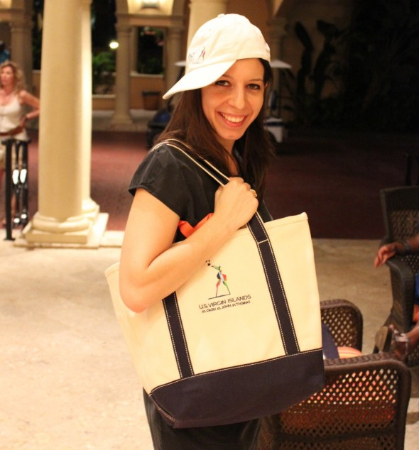 Mickela Mallozzi at Ritz-Carlton® of St. Thomas