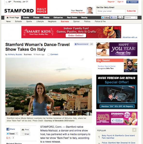 Stamford Daily Voice P1 1.30.13